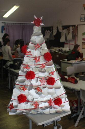 Resultado final. Árvore de Natal Guloso.