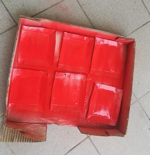 Pintura de pacotes