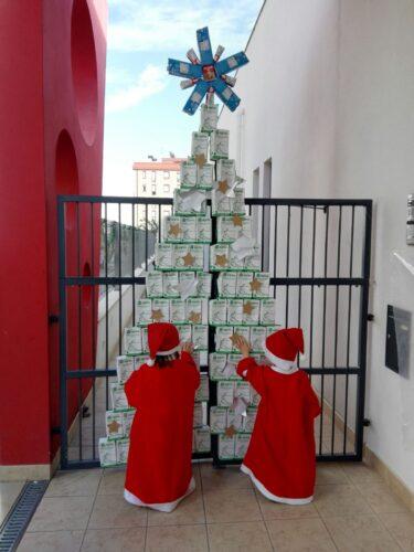 Elaboração da árvore de Natal