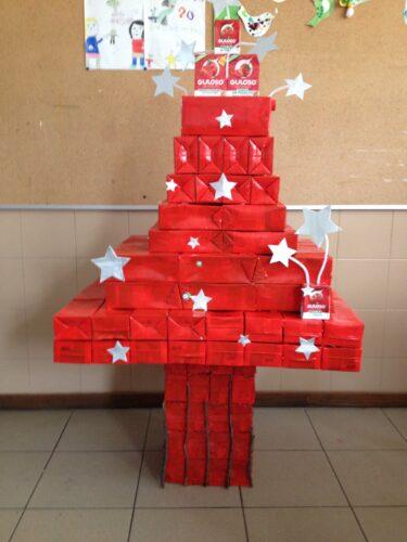 Árvore de Natal Guloso (Tetra Pack).