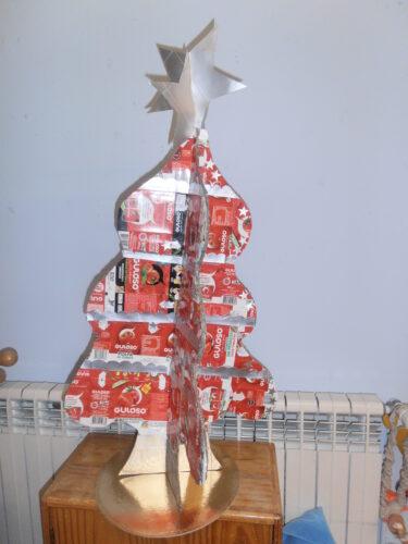 Árvore de Natal da Guloso terminada.
