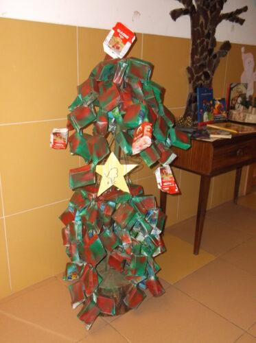 A árvore completa.