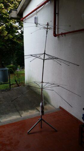 Estrutura da árvore de Natal