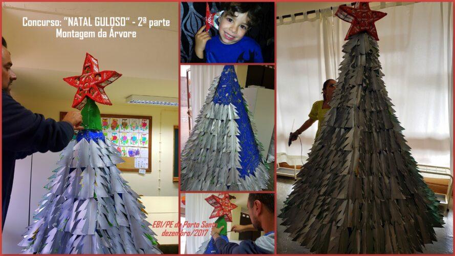 Montagem da árvore.