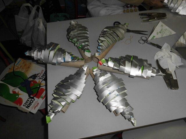 Inicio da estrutura da Árvore de Natal