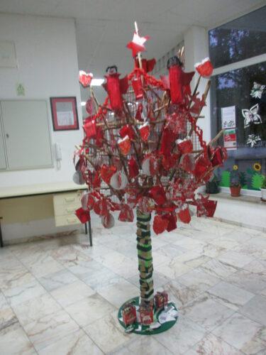 Resultado final da da Árvore de Natal Guloso.