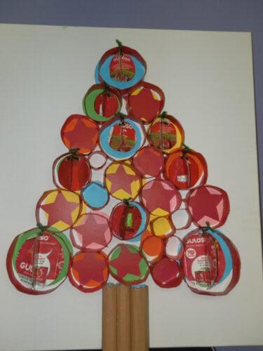 Árvore de Natal Tetra Pak