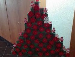 Exposição da árvore de Natal na escola - FSC