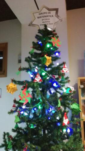 Árvore origami