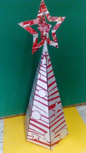 Árvore de Natal final.
