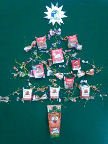 Identificação da Árvore de Natal Guloso
