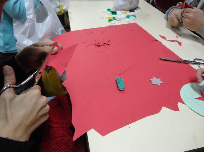 Elaboração dos motivos para a decoração das embalagens.