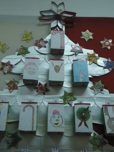 Árvore de Natal (pormenor).