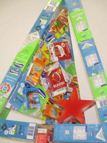 Marca Guloso das embalagens; Tetrapak e FSC.