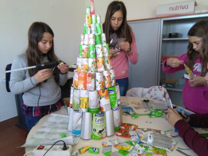 Durante a construção da árvore