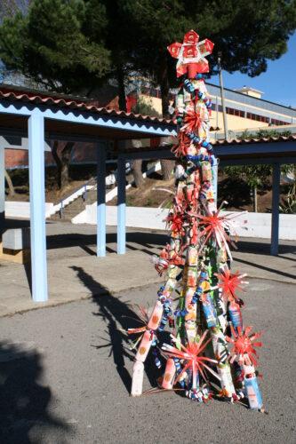 Aspecto geral da nossa árvore de Natal Guloso